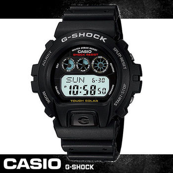 【CASIO 卡西歐 G-SHOCK 系列】當兵_學生首選-太陽能運動錶(G-6900)