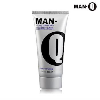 【MAN-Q】活顏微粒洗面乳100ml