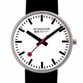 MONDAINE 瑞士國鐵經典腕錶/42mm (660811)