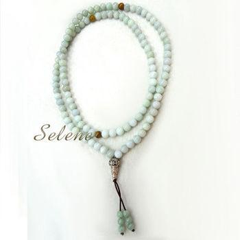 【Selene 珠寶】吉祥翡翠108顆念珠