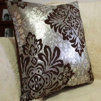 大馬士革燙銀床頭靠背墊含芯