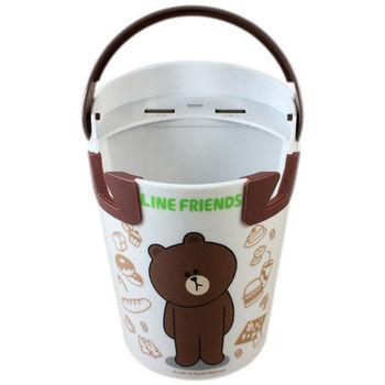 Line Friends熊大手拿杯造型車用充電器
