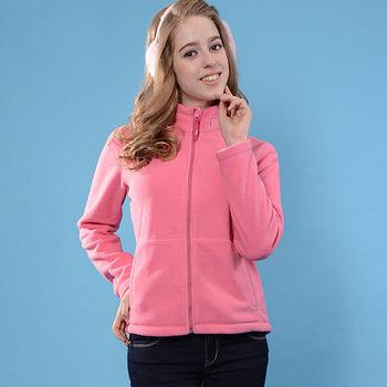 【JORDON 橋登】女款輕量刷毛夾克(1098F) 刷毛輕又軟 舒服不起毛球