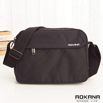 【AOKANA奧卡納】MIT台灣製 輕量防潑水 斜揹包 側背包(02-012)