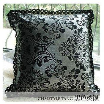 【協貿】洛可可新古典時尚燙銀抱枕含芯