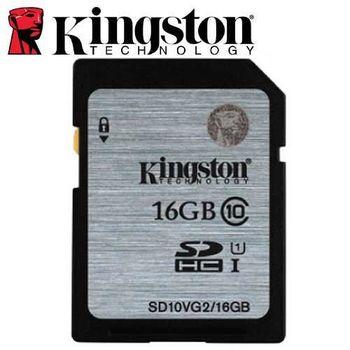 Kingston 金士頓 16GB 80MB/s SD SDHC UHS-I C10 記憶卡
