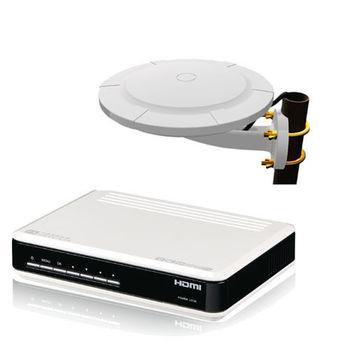 【PX大通】HDTV數位電視組合HD2000+HDA6000
