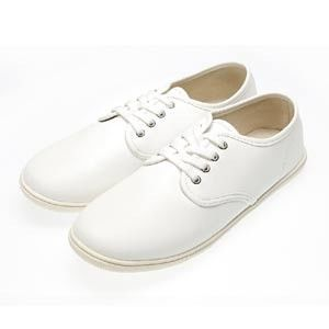 FUFA MIT 綁帶素面皮質休閒鞋 (N35) 共二色