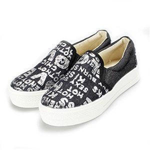 FUFA MIT 字母塗鴉ROCKER懶人鞋 (FL19) 共二色