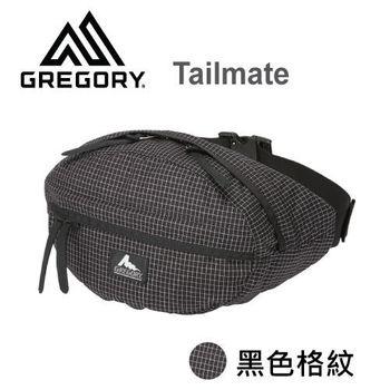 【美國Gregory】Tailmate日系休閒腰包-黑色格紋-XS