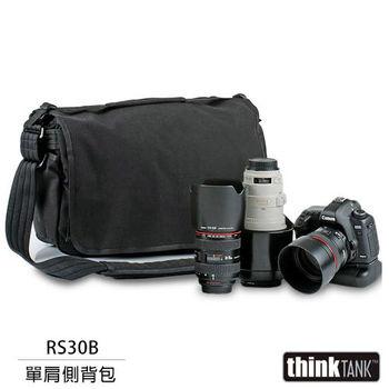 thinkTank 創意坦克 Retrospective 30 側背包(RS30B,黑色)