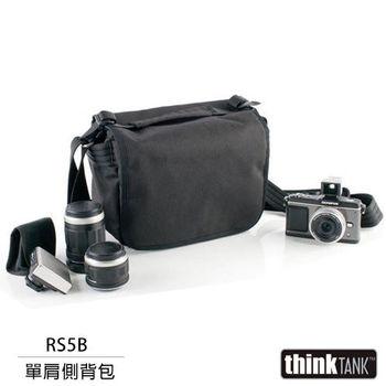 thinkTank 創意坦克 Retrospective 5 側背包(RS5B,黑色)