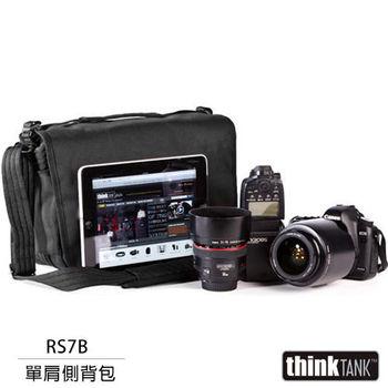 thinkTank 創意坦克 Retrospective 7 側背包(RS7B,黑色)
