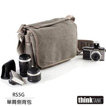 thinkTank 創意坦克 Retrospective 5 側背包(RS5G,灰色)
