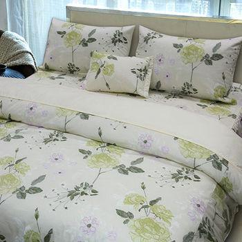 【Victoria】夢幻 單人四件式純棉床罩組