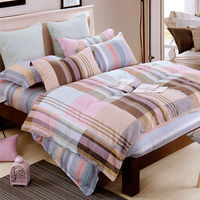 Indian 布拉格 特大四件式純綿兩用被床包組