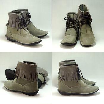 諾曼地MIT踏趣麂皮增高靴