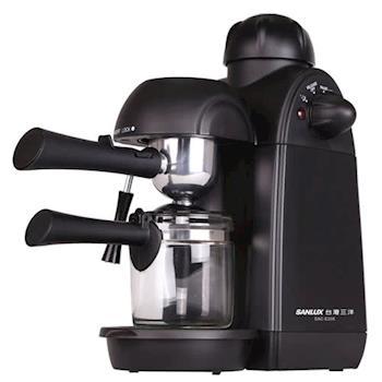 【台灣三洋】4人份奶泡濃縮咖啡機 SAC-P28