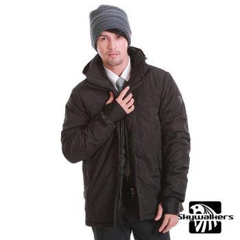 Skywalkers 極地禦寒連帽式外套(黑)  極地保暖-勝過羽絨1.5倍