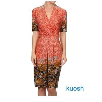 【Kuosh】美國進口民族風圖騰洋裝NW-5192