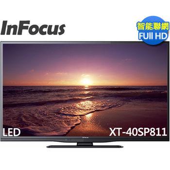 好禮三選一《InFocus鴻海》40吋 FHD LED聯網液晶 XT-40SP811