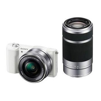 [64G+原電組]SONY A5100Y 16-55mm+55-210mm 雙鏡組(公司貨)
