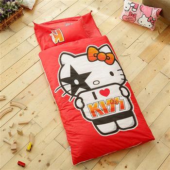 HO KANG 幼教兒童睡袋 冬夏鋪棉兩用-粉絲