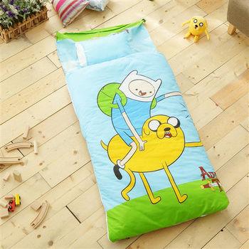 HO KANG 幼教兒童睡袋 冬夏鋪棉兩用-老皮玩伴