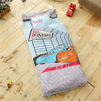 HO KANG 幼教兒童睡袋 冬夏鋪棉兩用-CR賽車
