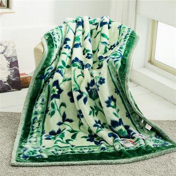 HO KANG 新合纖單人被頭柔軟毛毯-莫內
