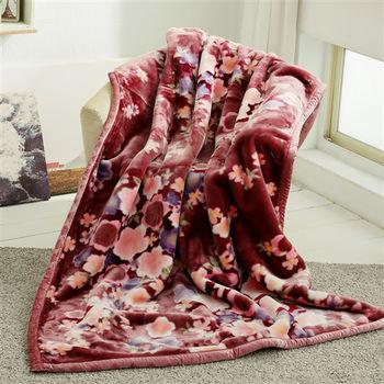 HO KANG 新合纖單人被頭柔軟毛毯-星辰