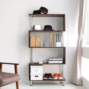 《舒適屋》S造型多用途五層組合櫃/系統櫃