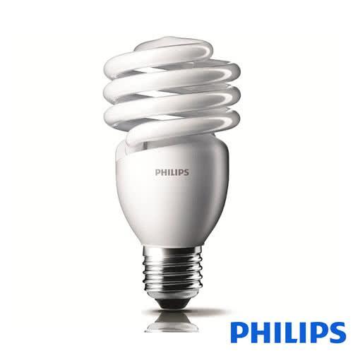 飛利浦 PHILIPS 23W E27 高亮度 螺旋燈泡 白/黃光 3入