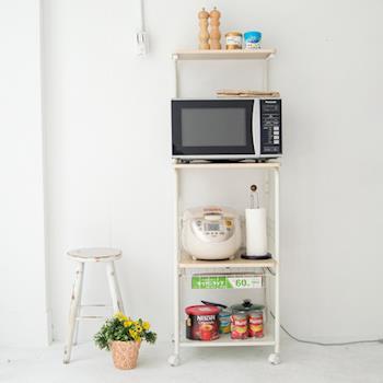 《舒適屋》廚房多功能可移動四層置物架/廚房架