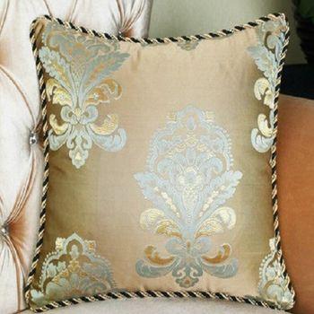 【協貿】高檔歐式提花沙發大抱枕含芯