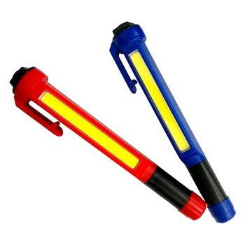 台灣製 450流明5瓦COB LED筆燈-1入(紅/藍)
