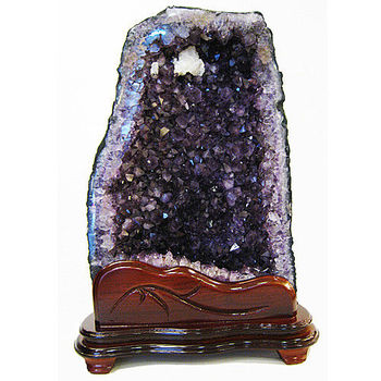 【開元琉璃】正宗AAA級巴西頂級紫晶洞 水晶洞z82