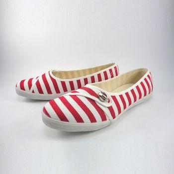 [T-EGO]經典條紋女娃娃鞋-MIO7524