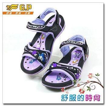 【GP 花漾涼拖系列】G5991W-41 紫色(SIZE:35-39 共二色)