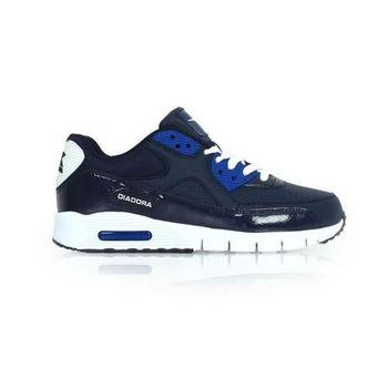 【DIADORA】男流行跑鞋-慢跑 路跑 丈青藍