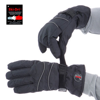 【JORDON】熱賣款Ski-Dri男女款防水刷毛保暖手套(G009/10)