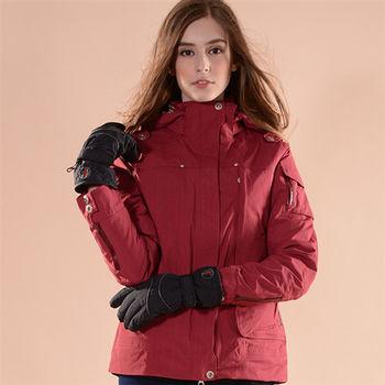 【JORDON】熱賣款Ski-Dri女款防水刷毛保暖手套(G010)