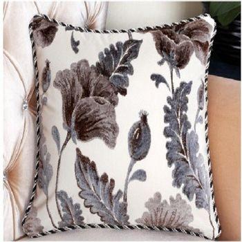 【協貿】高檔花藝舒適沙發大抱枕含芯