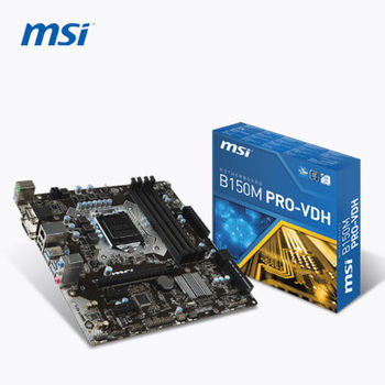 【MSI 微星】B150M PRO-VDH 主機板