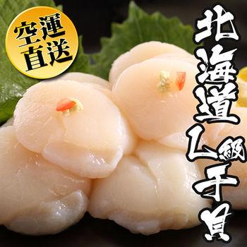 【海鮮世家】日本北海道生食L級干貝2包組(500g/包)