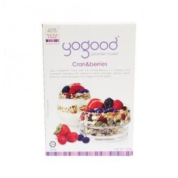 [Yogood優纖]莓果大饗宴!綜合莓果燕麥片 (370g盒)x2