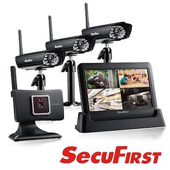 SecuFirst DWH-A059H 數位無線網路監視器 (一機四鏡)