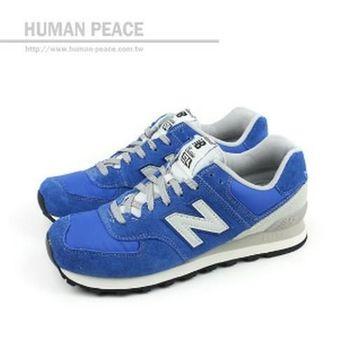NEW BALANCE 574系列 休閒鞋 藍 男款 no814