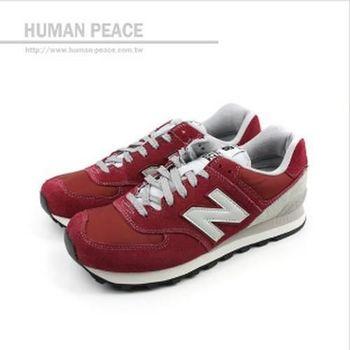 NEW BALANCE 574系列 休閒鞋 紅 男女款 no813