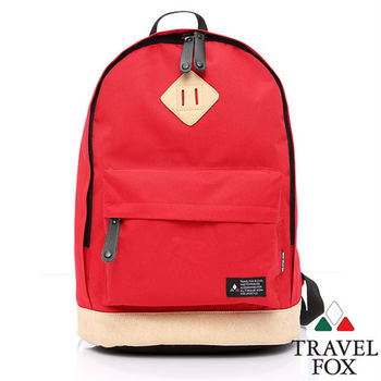 Travel Fox 旅狐波提後背包(紅)(TB660-04)